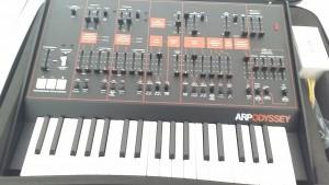 My Korg ARP Odyssey, taken 09-Oct-2015