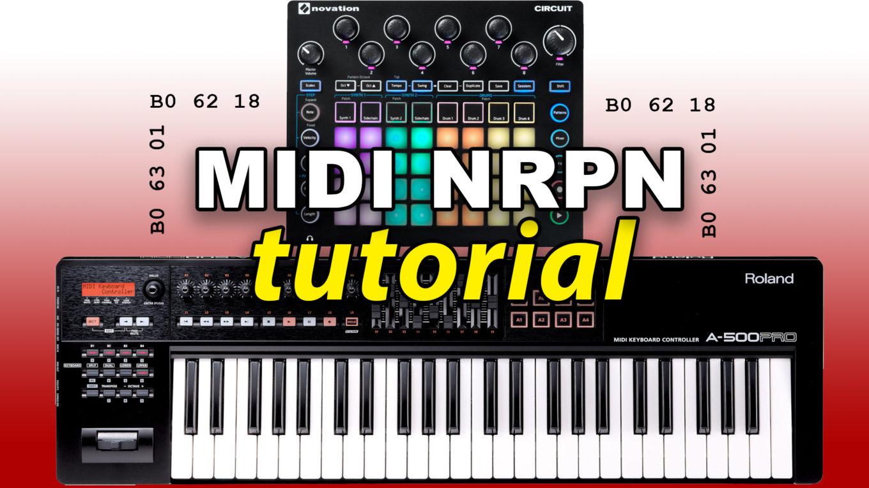 MIDI NRPN tutorial