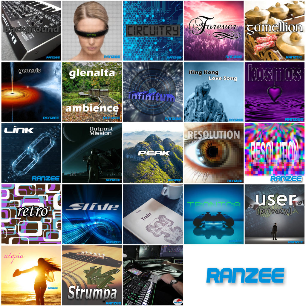Ranzee album cover art